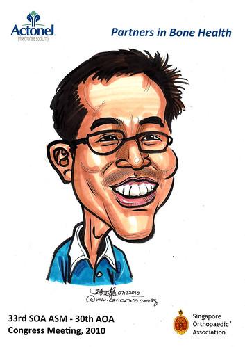 Caricatures for Sanofi-Aventis - 38