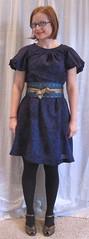 M5661 (sewyerown) Tags: dress purple dresses 5661 challis akris bubblesleeve mccalls5661 mccall5661 woolchallis m5661
