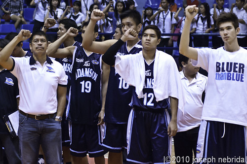 PCCL 2010 Finals Game 3: Ateneo Blue Eagles vs. Adamson Falcons, Dec. 6, 2010