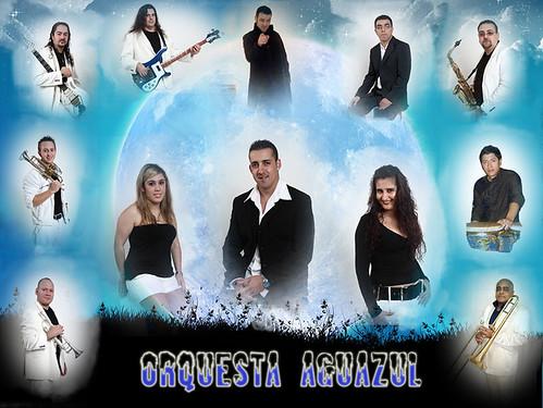 Aguazul 2011 - orquesta - cartel