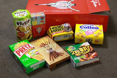 グリコの株主優待のお菓子