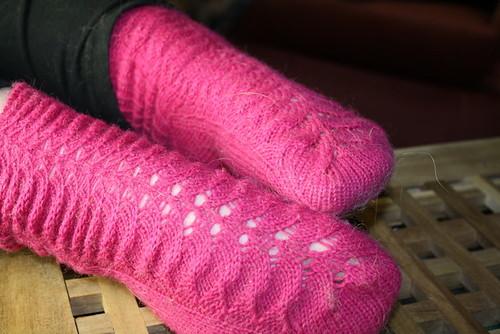 trad lace socks