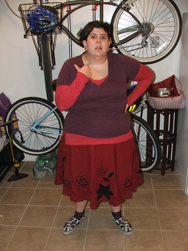marina rose martinez, what I wore, fat fashion