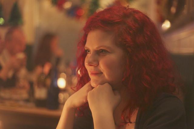 three redheads walk into a bar.
