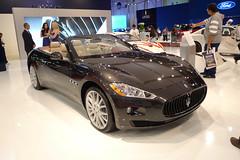 Maserati GranCabrio (AlBargan) Tags: auto show lumix autoshow panasonic international motor abu dhabi maserati motorshow 2010  2011     abudahbi   lx3   dmclx3 grancabrio