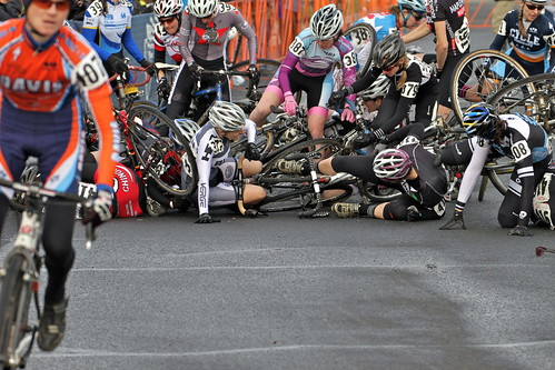 Third row crash at the start