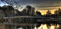 Bridge Over the River 3 (Mike Docherty) Tags: bridge river landscape scotland hdr dumfries galloway nith photomatix