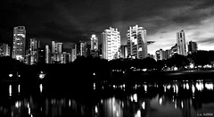 (Lulu@) Tags: park city parque light cidade sky lake luz brasil night lago ciudad noturna cielo noite goinia gois nocturno d3000 cidadesbrasileiras oltusfotos