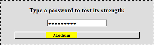 Is my Password Strong