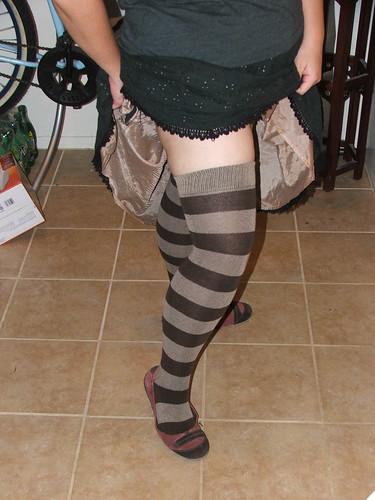 sock dreams extraordinary thigh high socks, review, fat fashion, www.marinarosemartinez.com