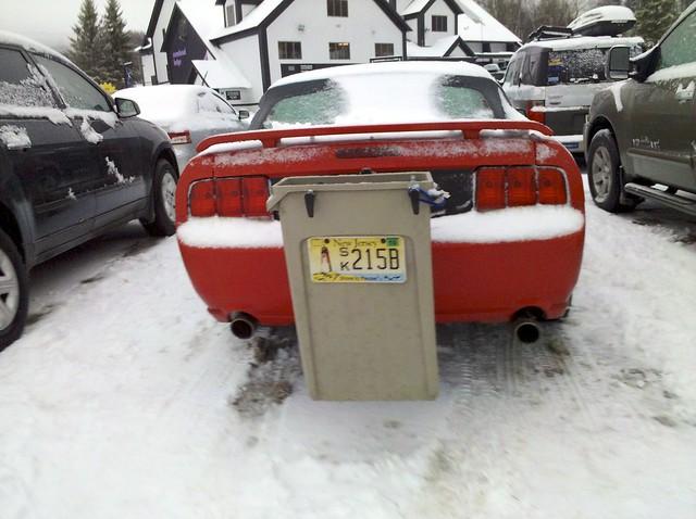 "Ski ""rack"""