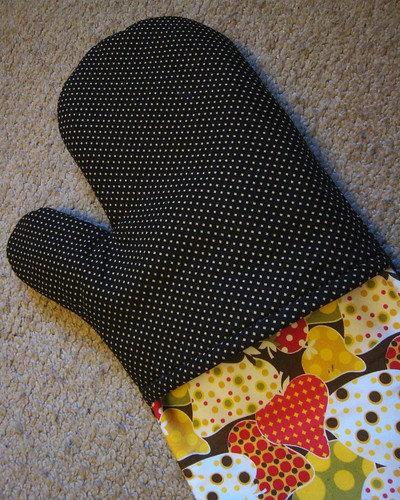 oven mitts reversed