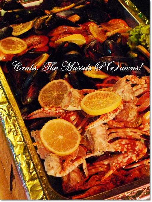 Crabs, Mussels & Prawns