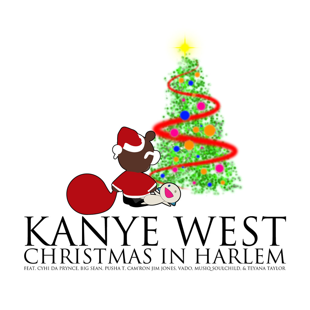 Kanye West Christmas In Harlem.Christmas In Harlem Album Art Page 3 Kanye West Forum