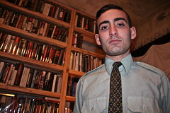 AARON MICHAEL SKOLNICK (louisbickett) Tags: men boys studio lexington ky books artists tats archivelouiszoellarbickett louiszoellarbickettii aaronmichaelskolnick robertweickel