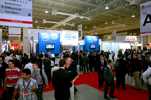 Dell booth at Oracle OpenWorld