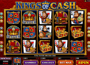 Kings of Cash slot game online review