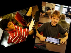 ipads with students