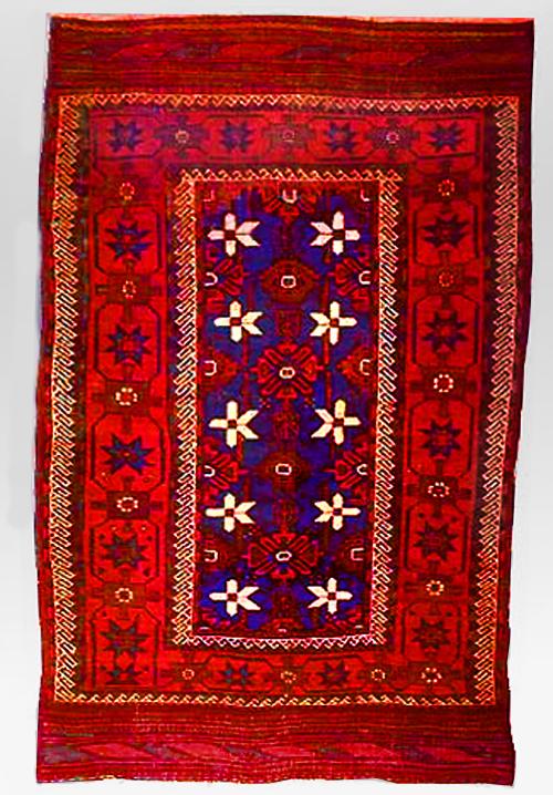 Baluchi rug from Nimruz Province