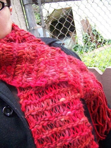 Fiery Scarf (detail)