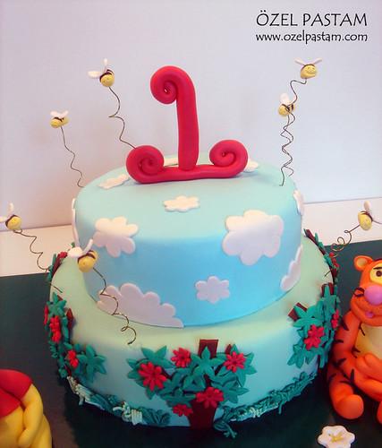 Demir'in Winnie The Pooh ve Arkadaşları Pastası / Winnie The Pooh and Friends' Cake