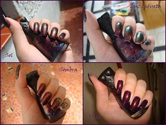 Noite de Gala - Colorama + 51 - Nfu Oh (michelleorsatti) Tags: purple nail polish nails 51 unhas roxo unha esmaltes esmalte colorama duochrome importado polishes flocado flakies nfuoh noitedegala