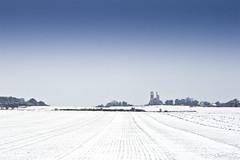 Vestige du passé (CrËOS Photographie) Tags: snow france landscape perspective sigma neige paysage artois ruines abbaye pasdecalais 1770mmf2845dcmacro flickraward montsainteloi