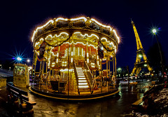 Carrousel du  Trocadro (Christophe Bailleux Photography) Tags: france paris europe carrousel toureiffel lumire light night nuit reflet reflect water eau tourisme visite monument tourist voyage westerneurope location journey tour touring tourism touriste travel vacation trip exploration world eu canon canon550d holiday place destination traveling visit visiting sight sightseeing wonderful fantastic awesome stunning beautiful breathtaking lovely incredible nice best perfect photo photography image shot foto photograph photographe reflection reflecting exposurefusion fisheye