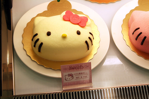 台湾ではキティちゃんが人気
