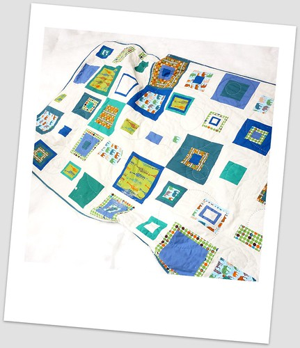 Boy Quilt {finished}