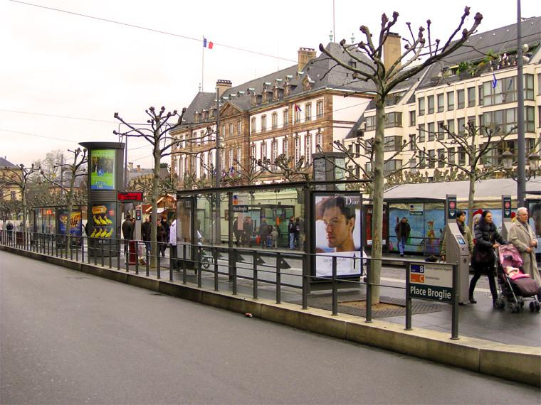 Strasbourg, Tramway Place Broglie