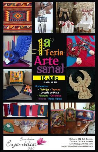 Folk Art Fair @ Casa Bugambilias, Oaxaca 07.2011