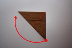 Step 2: Fold the Paper diagonally Again