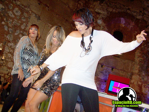 Karina Larauri, Ivon Beras y Sabrina