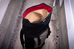 Zugster Rolltop Backpack #000 (monsterpartyhat) Tags: back handmade top backpack roll custom rolltop zugsterbags zugster