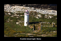 Franklin Island Light (edearmitt) Tags: lighthouse lighthouses photographer lighthouselovers sony maine cameras alpha asony llovemypic
