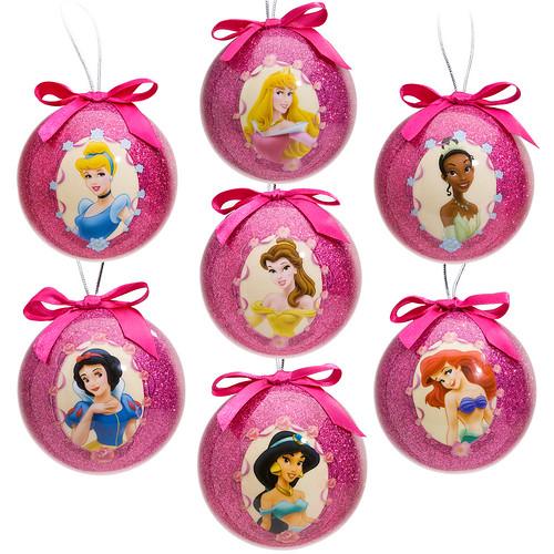 Disney Princess Christmas Day Ii Ornament Sets D Princesses