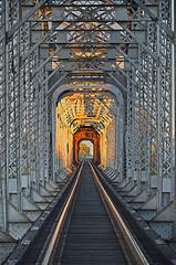 Railroad bridge (photographyguy) Tags: shreveport louisiana bridge railroad steel tracks northlouisiana downtownshreveport