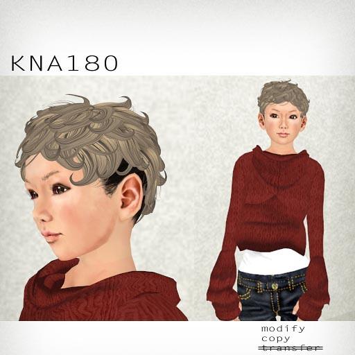 booN KNA180 hair