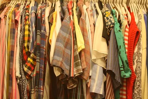 closet: shirts