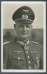 Nice Photo Study Of German General's Uniform (The General Was Here !!!) Tags: germany army iron cross general gustav ww2 officer ww11 offizer