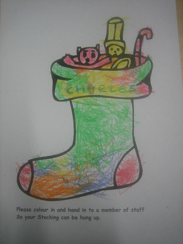 Charles's stocking