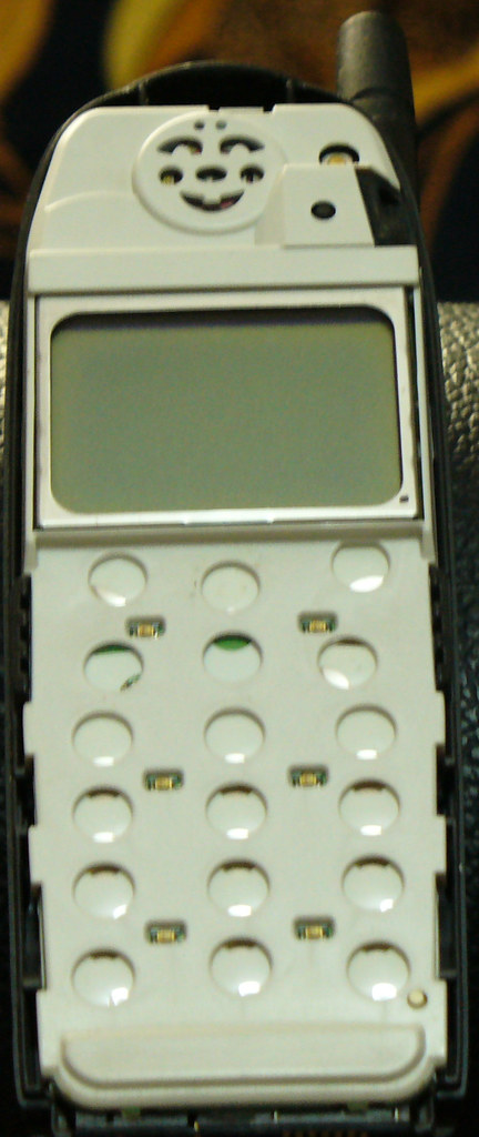 Nokia 5110 once you pop the facia off