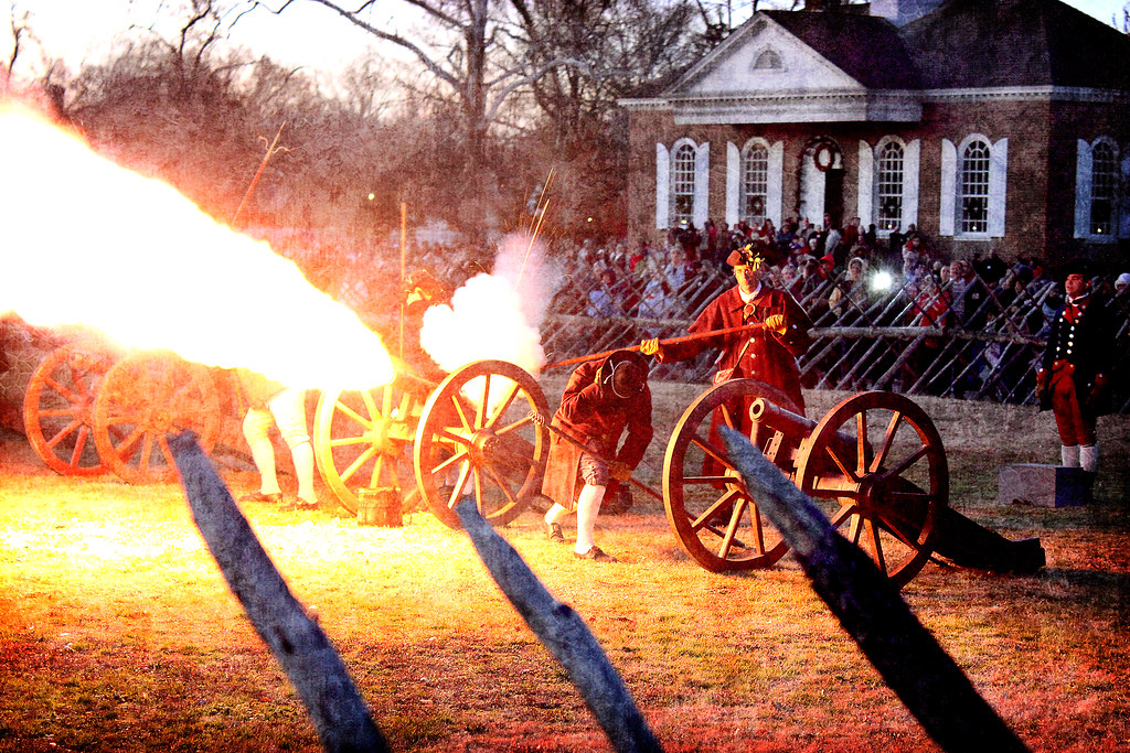 Firing of the Christmas Guns - Williamsb by Mobilus In Mobili, on Flickr