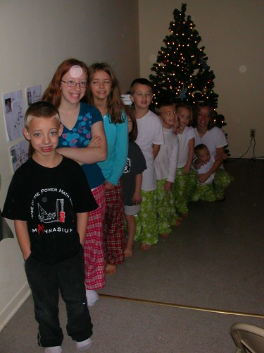 Dec 25 2010 The LINEUP! Anthon Ila Lizzy Rachel Clark Cal Shanna Haley Elden Ruth