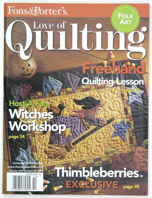 Fons & Porter's Love of Quilting, September/October 2005