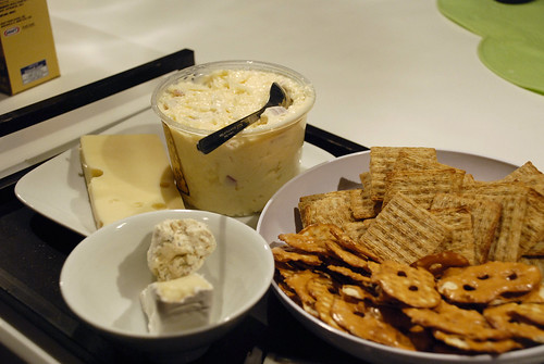 christmas eve multi cheese platter of deliciousness