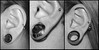il mio lobo! (Lù *) Tags: art nikon body piercing lobo 1855mm 16mm d60 lobe dilatatore dilatato