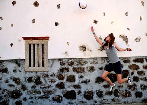 フリー写真素材, 人物, 女性, アジア女性, 跳ぶ・ジャンプ,