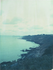 (emilie79*) Tags: sea coast bretagne polaroid180 iduvfilm